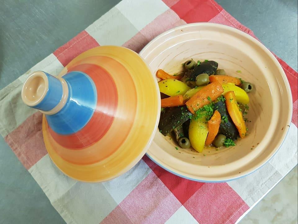 Spécialité de tajine , restaurant Le Mermoz, cuisine orientale dans le 41