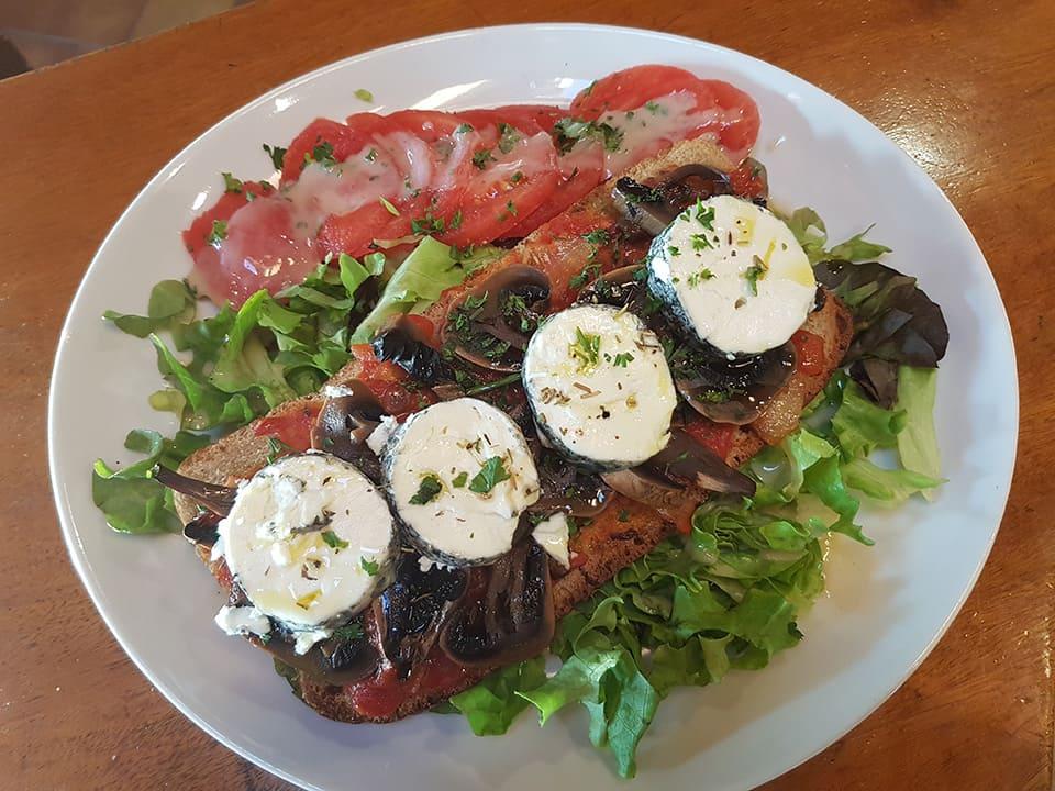 Tartine gourmande au Mermoz à Montoire, restaurant dans le 41